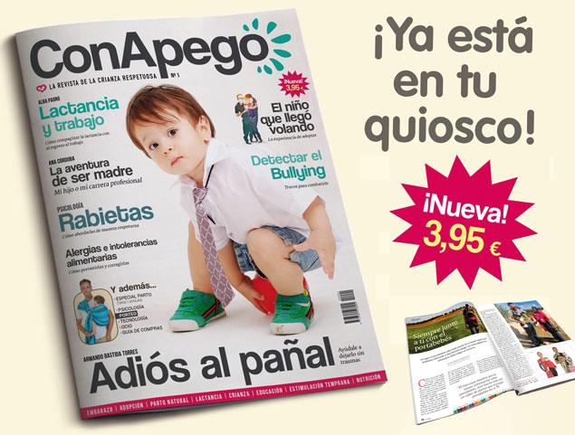 Nueva revista Con Apego de crianza respetuosa