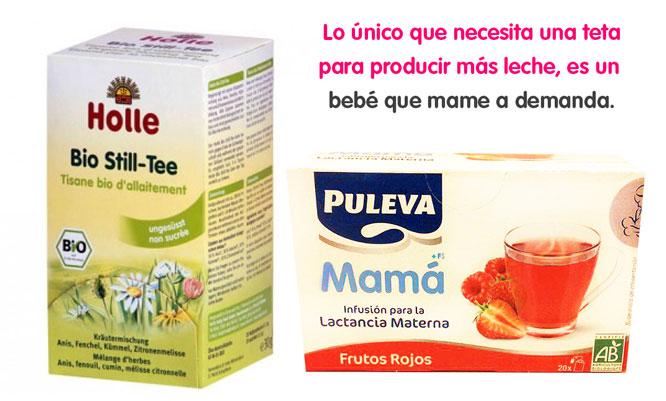 Las infusiones para lactancia pueden ser tóxicas