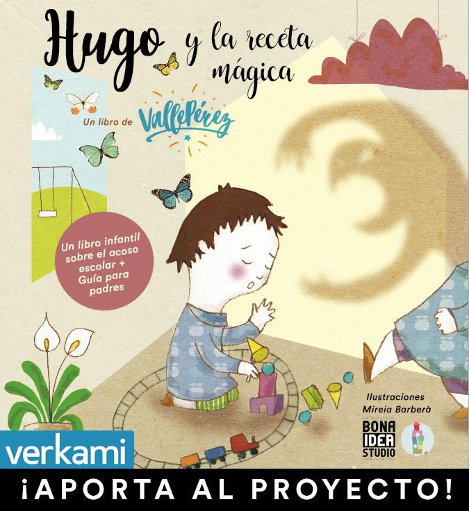Hugo y la receta mágica, un libro sobre