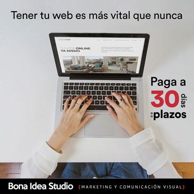 Consigue tu web online ahora
